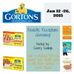 Gorton's Realistic Resolutions Giveaway