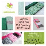Janiebee Nap Mat Giveaway