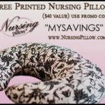 Free Printed Nursing Pillow-Just Pay Shipping