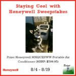 Honeywell Portable Air Conditioner Giveaway