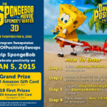 SpongeBob Movie – Day of Positivity – Instagram Sweepstakes