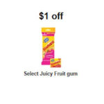 Free Juicy Fruit Starburst Gum
