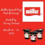 Muller's Yogurt Giveaway