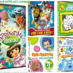Nickelodeon Easter DVD's Giveaway