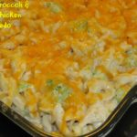 Cheesy Broccoli & Corn Chicken Alfredo
