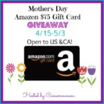$75 Amazon Gift Card Giveaway