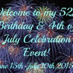 4th of July/Birthday Celebration Event