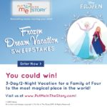 A Frozen Dream Vacation Sweepstakes