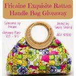 Fricaine Exquisite Rattan Handle Bag Giveaway