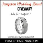 Tungsten Wedding Band Giveaway