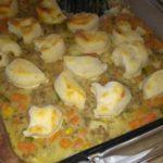 Veggie Biscuit Casserole