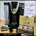 iCoffee Opus Single Serve Coffee Brewer Giveaway