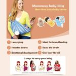 Mamaway Baby Ring Sling Carrier