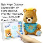 My Friend Teddy Giveaway