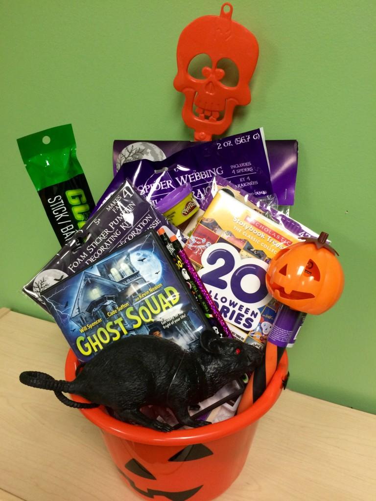 Cinedigm Halloween Gift Basket
