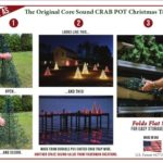 Save 20% Off & Free Shipping on a Crab Pot Christmas Tree