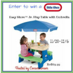 Little Tikes Easy Table Giveaway