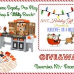 Step2 Home Depot Pro Play Workshop & Utility Bench Giveaway