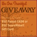 Paypal Cash Sears/Kmart Gift Card Giveaway