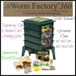 Worm Factory 360 Composting Worm Bin System Giveaway