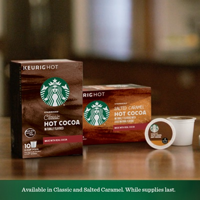 Free Starbucks Hot Cocoa K Cup Sample Pack Life With Kathy