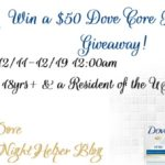 $50 in Dove Core Products #Giveaway