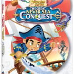 Captain Jake and The Neverland Pirates The Great Never Sea Conquest DVD