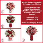 Valentine's Day With Teleflora #WhatIsLove Giveaway