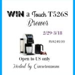 Touch Coffee Maker Giveaway