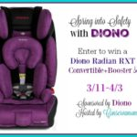 Diono Radian RXT Convertible+Booster Seat Giveaway