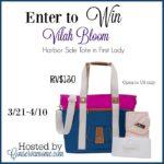 Vilah Bloom Diaper Bag Giveaway