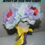 Mother's Day Tissue Paper Flowers