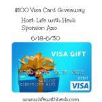 $100 Visa Card Giveaway