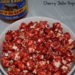 Cherry Jello Popcorn