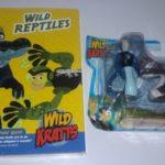 Wild Kratts: Wild Reptiles & Action Figurine