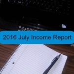 2016 July Income Report