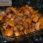 Honey Cinnamon Sweet Potatoes