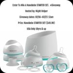 Nanobebe Starter Set Giveaway