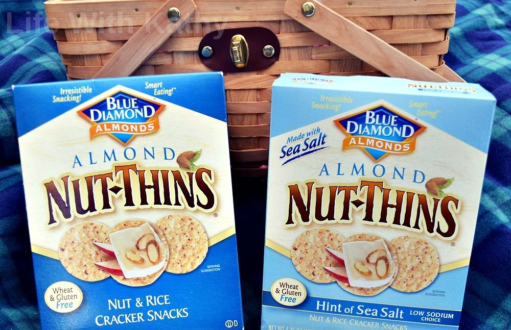 Family Picnic With Nut-Thins - Life With Kathy